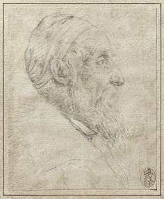 Titian: Self-portrait (drawing)