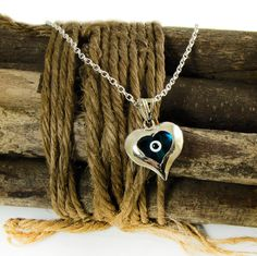 Blue Evil Eye Necklace silver evil eye pendant necklace