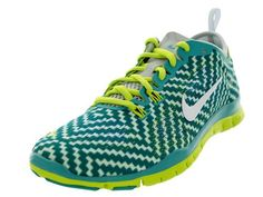 Amazon.com: Nike Womens Free 5.0 TR Fit 4 Print Cross Training Shoes: Shoes