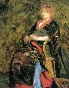 Henri de Toulouse-Lautrec - Lily Grenier 1888