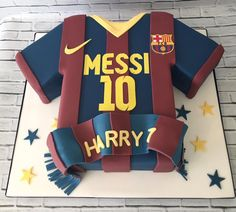 Football shirt cake for a Messi fan Camiseta De Messi a357f7efa28