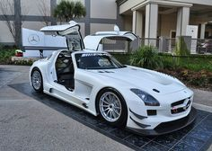 Mercedes SLS GTR - I just about fell over when I saw this in person...