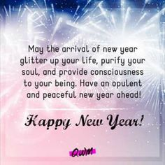 New Year Wishes, Happy New Year, Peace, Life, Happy New Year Wishes, Sobriety, World