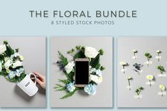 The Floral Bundle by Ivory Mix on @creativemarket