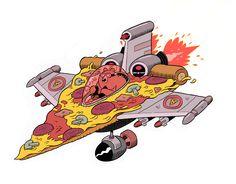 Pizza Jet by Nick Edwards