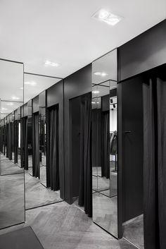 karl lagerfeld store antwerp by plajer & franz studio
