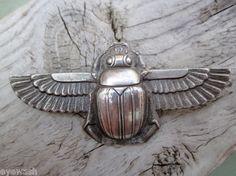 Art Deco Scarab Beetle Brooch