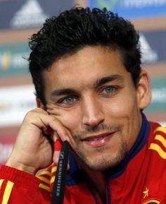 Jesus Navas my new soccer crush... Just look at those eyes