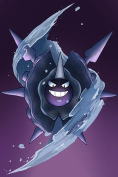 [Day 18] Favourite ice type - Cloyster I'm a big fan of the Gastly evolution line, and some people believe that Cloyster is a Gastly trapped in a shell. Even before I'd heard this theory I thought Cloyster looked badass, so it must be true!