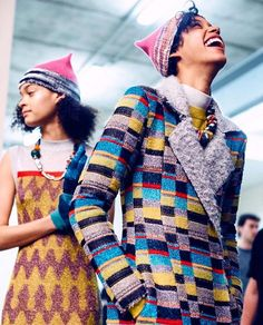GIRLPOWER @missoni  __________________________________________________ Repost: @whowhatwear - Angela Missoni closed the @missoni show with a mini #womensmarch of models wearing Pussy Hats symbolizing unity and solidarity #Missoni #MFW // by @lillieeiger  #pussyhats #girlpower #missoni #MFW #fw17 aw17 #backstage #milan #fashionweek #milanfashionweek #girls #colour #solidarity #unity #angelamissoni #women  via VOLT MAGAZINE OFFICIAL INSTAGRAM - Celebrity  Fashion  Haute Couture  Advertising…