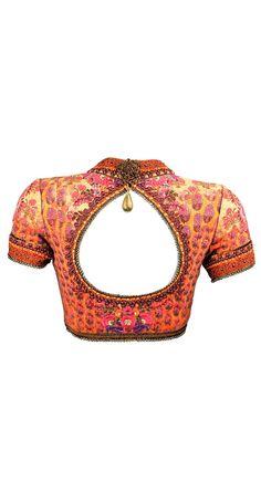 Tarun Tahiliani saree sari blouse design