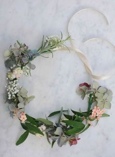 13 Flower Crowns for Your Boho Wedding via Brit + Co