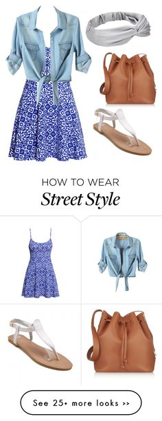 """On the sunny side of the street"" by mferrer-1 on Polyvore"