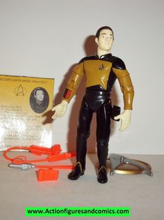 Star Trek DATA 1993 series 1 playmates complete action figures