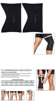 d078a6cdcf28 Orthopedics and Supports 182132  Tommie Copper Core Compression Knee Sleeve  Set Of 2 Fit Black