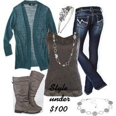 """""""The entire outfits is under $100!"""" by chelseawate on Polyvore"""