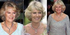 Camilla, Duchess of Cornwall wearingThe Diamond Serpent Necklace