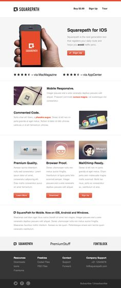 Display Email PSD Template Version 3 | UX / UI / web design ...
