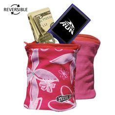 WristSTASH Lite Reversible Wrist Wallet, great gift for runners