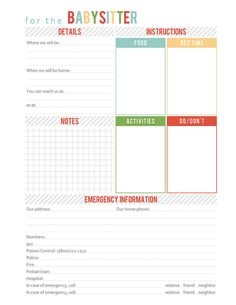 Printable Organizational Add-On Pack by crystalnale on Etsy