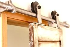 Barn Door Hardware Tube Track System