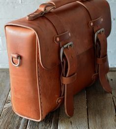 No. 29 Old World Leather Satchel by Stock & Barrel on Scoutmob