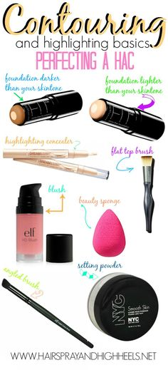 The EASIEST & Most Comprehensive Contouring Guide On The Web! Easy To Follow Instructions & List Of Products! Pin now, Read later! #lipstick #beauty #makeup #tips #makeuptips #beautytips