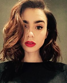 #Lily Collins