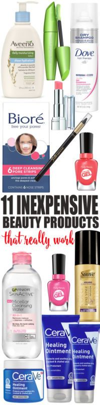 Inexpensive Beauty Products That Really Work