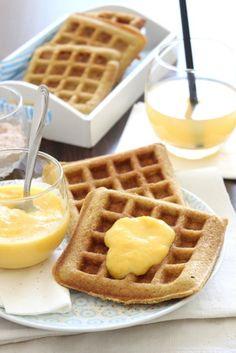 Gofri őszibarackszósszal - Kifőztük, online gasztromagazin Gnocchi, Paleo, Waffles, Pancakes, Creative Food, Cookie Recipes, Muffin, Food And Drink, Cookies