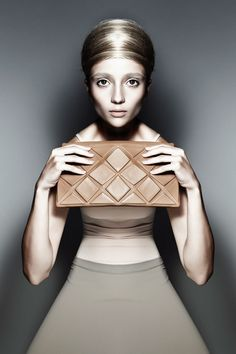 Clutch bag  by Komarova #geometric #clutch #purse