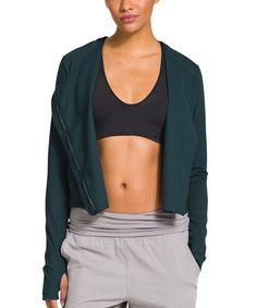 This Batik UA Streek Sleek Zip-Up Jacket is perfect! #zulilyfinds