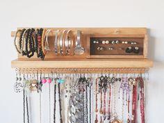Jewelry organiser Decor Jewellery holder Jewellery storage | Etsy