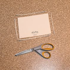 Make Greeting Card Boxes with This Step-by-Step Guide: Trim the Back of the Card