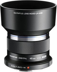 Olympus M.Zuiko Digital Obiettivo 45mm 1:1.8, Micro Quattro Terzi, per Fotocamere OM-D e PEN, Argento: Amazon.it: Elettronica