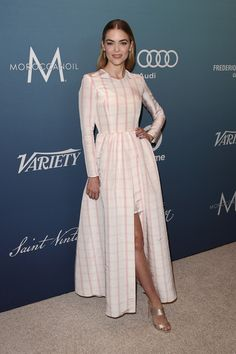 Actress Jaime King attends Variety's Power Of Women Luncheon at the Beverly Wilshire Four Seasons Hotel on October 9, 2015 in Beverly Hills, California.