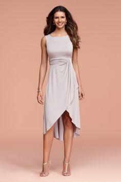 Trinity Faux Wrap Dress