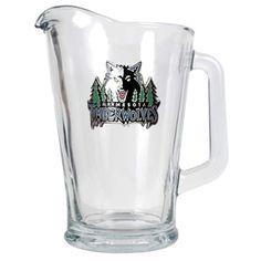 Minnesota Timberwolves Glass Pitcher, Multicolor