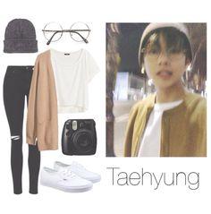 BTS V/Taehyung Selca insp. outfit