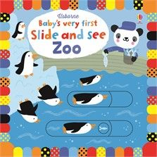 """Slide and see zoo"" at Usborne Children's Books The Zoo, Childrens Gifts, Childrens Books, Fiona Watt, Sensory Book, Bright Pictures, Little Library, Animal Books, Kids Lighting"