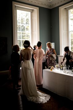 Image by Michelle Wood Photographer - Bespoke Jessica Charleston Bridal Gown Eco Conscious Wedding The Holburne Museum Bath Michelle Wood Photographer