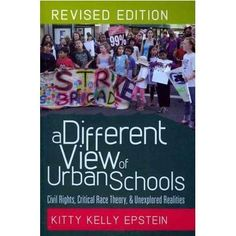 Dr. Epstein dismisses many myths about urban education in this book. This book should be required reading for all educational reformers.
