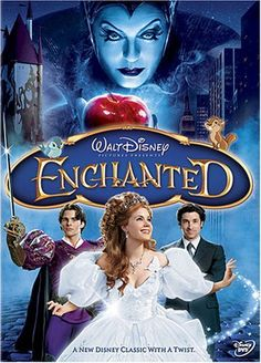 Enchanted (2007) What's a fairy tale princess to do when she is exiled to NYC?  This one does the best she can and finds true love in the process.