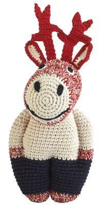 Peluche Midi Reindeer Rouge - Anne-Claire Petit - Décoration et mobilier design avec Made in Design