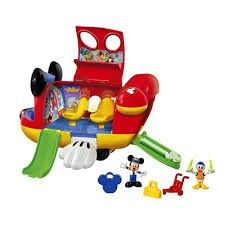 Mickey Mouse Clubhouse toy airplane Mickey Mouse Clubhouse Toys, Mickey Mouse Toys, Fiesta Mickey Mouse, Jouets Fisher Price, Fisher Price Toys, Disney Toys, Disney Mickey, Toys For Boys, Kids Toys