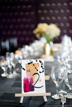 Tony and Amanda's wedding in Toronto, Ontario Table Centerpieces, Wedding Centerpieces, Wedding Decorations, Diy Wedding, Wedding Outfits, Wedding Stuff, Wedding Ideas, Wedding Canvas, Art Gallery Wedding