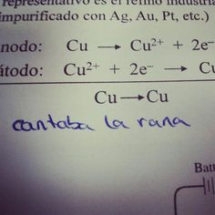 Exámenes de química. Tómatelos con humor