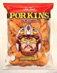 Porkins Pork Skins by Steve Dressler   (haha)
