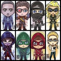 Arrow fan art!                                                                               More