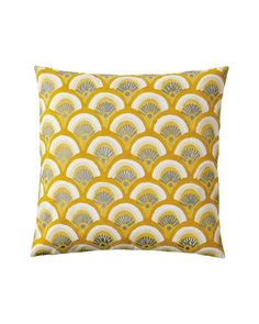 Goldenrod Kyoto Pillow Cover - Serena & Lily - $67.99 - domino.com